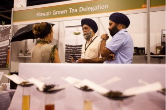 Hawaii Grown Tea Delegation at the Las Vegas Tea Expo 2010
